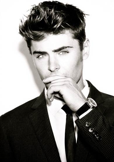 Zac Efron Black And White Photos