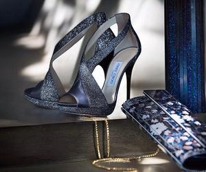 Jimmy Choo, designer shoes, and designer heels image