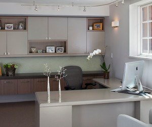 office interior, chic look, and luxurious style image