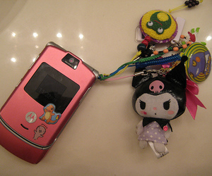 cellphone, cute, and sanrio image