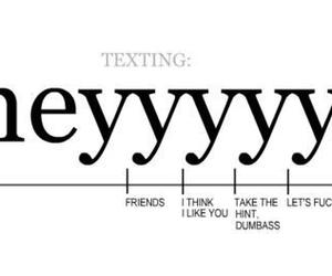 hey, funny, and texting image