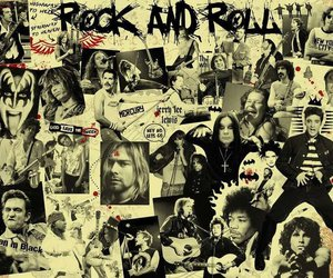 rock, rock and roll, and kiss image