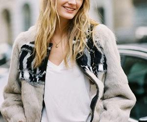 fashion, fur, and street image