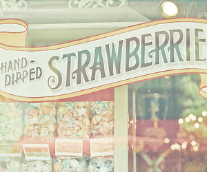 strawberry, candy, and vintage image