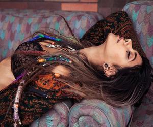 girl, hippie, and rasta image