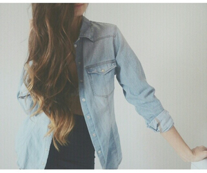 outfit, denim, and summer image