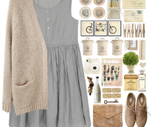 book, Polyvore, and dress image