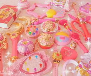 pink, cute, and sailor moon image