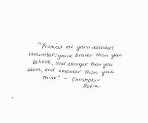 promise, qoutes, and winnie the pooh image