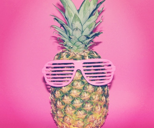 pink, pineapple, and summer image