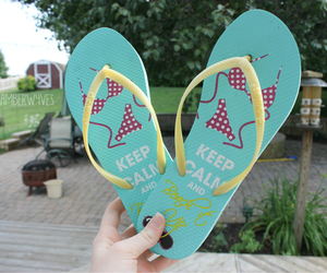 colorful, flip flops, and quality image