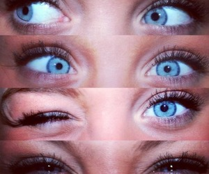 eyes, girl, and cute image