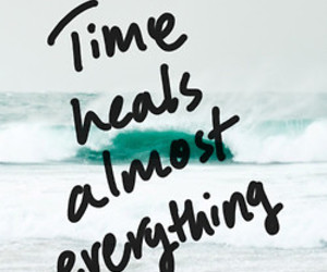 time, quote, and sea image