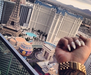 nails, city, and Las Vegas image