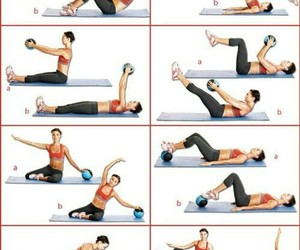 abs, summer, and fitspo image