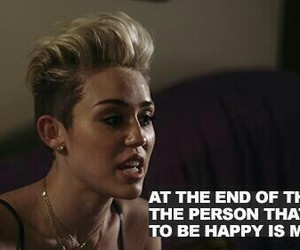 miley cyrus, miley, and quote image