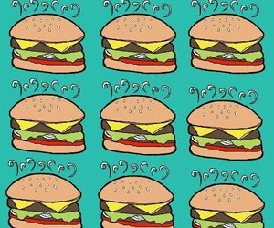 background, burger, and cool image