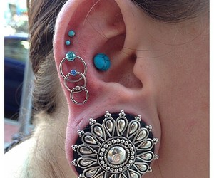body modification, earrings, and jewelry image
