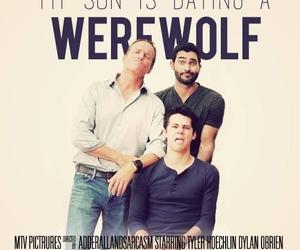 teen wolf, sterek, and werewolf image