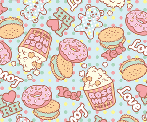 wallpaper, food, and background image