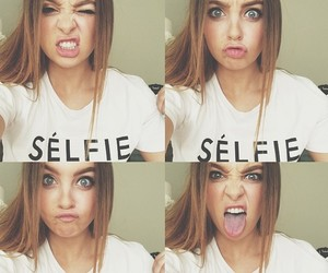 girl, selfie, and pretty image