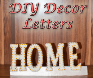 decor, home, and letters image