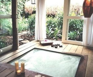 relax, house, and pool image