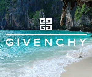 Givenchy, fashion, and beach image