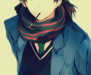 anime, beyond the boundary, and scarf image