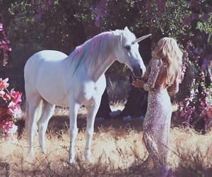 unicorn, fantasy, and magic image
