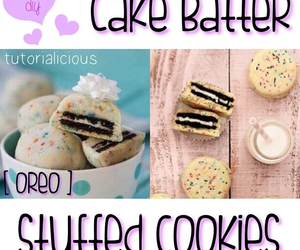 cake batter, food, and ideas image