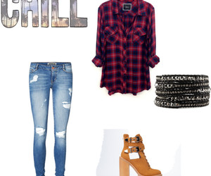 chic, chill, and jeans image