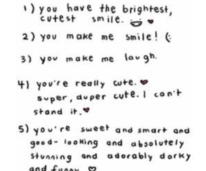 love, cute, and smile image