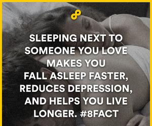 love, sleep, and fact image