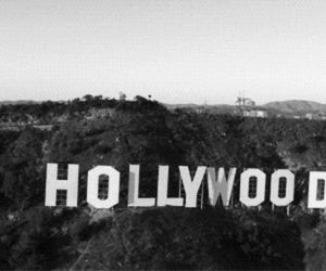 hollywood, Dream, and black and white image