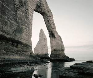 france, normandie, and etretat image