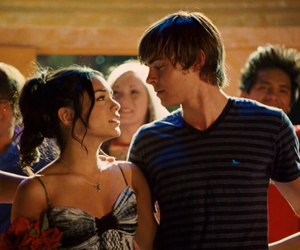 zac efron, vanessa hudgens, and goals image