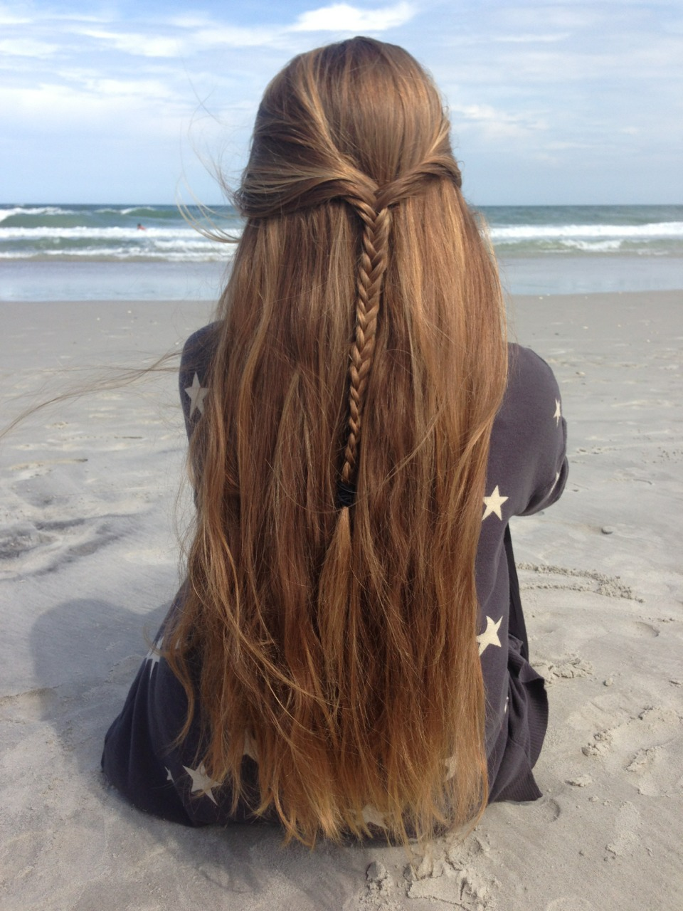 Hair straight from the back tumblr rare photo