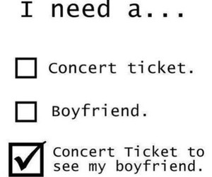 boyfriend, concert, and one direction image