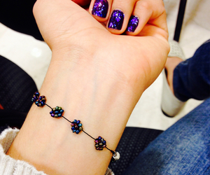 bracelet, mexican, and nails image