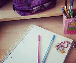 bubblegum, pens, and disney image