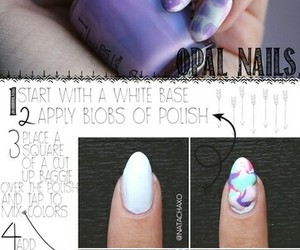 nails, nail polish, and diy image