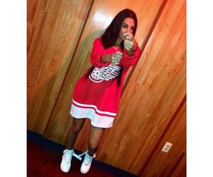 dope, latina, and legs image