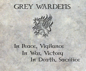 dragon age and grey warden image