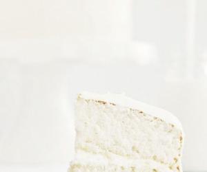 food, cake, and white image