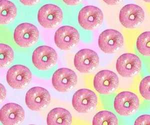 donuts, background, and wallpaper image