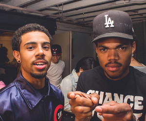 vic mensa and chance the rapper image