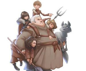 game of thrones, summer, and bran image