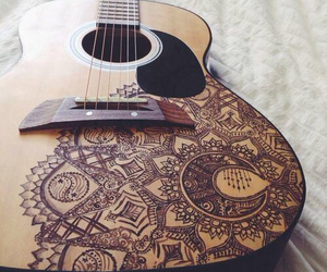 cool, drawing, and guitar image