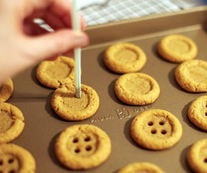buttons, Cookies, and food image